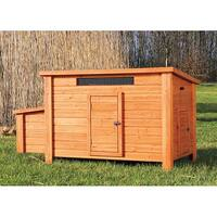 TRIXIE Pet Products Glazed Pine Chicken Coop