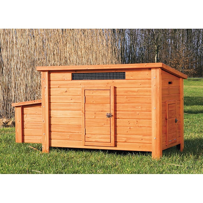 Trixie Chicken Coop (Chicken Coop), Brown