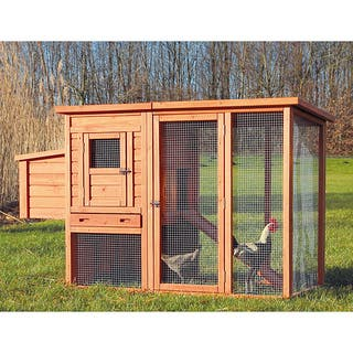 Trixie Chicken Coop with Outdoor Run|https://ak1.ostkcdn.com/images/products/6689438/P14244040.jpg?impolicy=medium