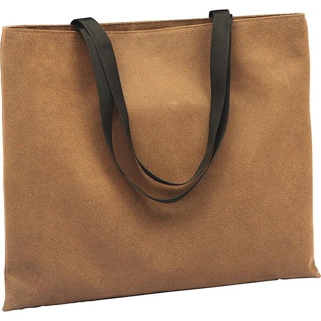 Roberto Amee Brown Ultimate Flocked-vinyl Shoulder Tote Bag