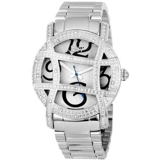 JBW Women's Olympia Stainless Steel Diamond Watch