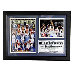 Dallas Mavericks 2011 NBA Champions Photo Stat Frame