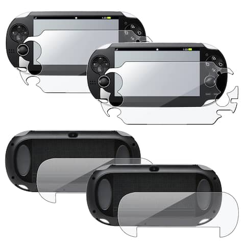 INSTEN Full Body Screen Protector for Sony Playstation Vita (Pack of 2)