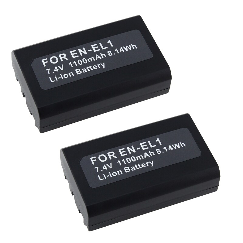 INSTEN Compatible Li-ion Battery for Nikon EN-EL1/ CoolPix 775/ 880