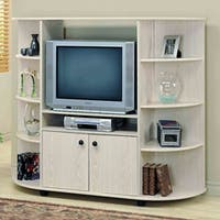 Washed Oak 32-inch TV Entertainment Center