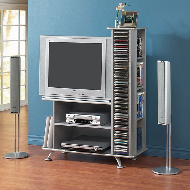 Silver 32-inch HDTV Stand