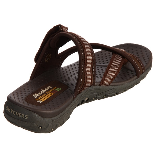 Shop Skechers USA Women's 'Reggae Rasta' Sandals Overstock