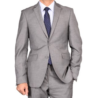 Men's Charcoal Grey Slim Fit Suit (More options available)