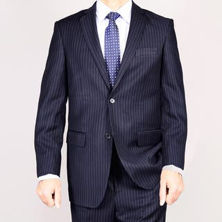 Navy Blue Pinstripe 2-Button Suit|https://ak1.ostkcdn.com/images/products/6691204/6691204/Giorgio-Fiorelli-Navy-Blue-Pinstripe-2-Button-Suit-P14245437.jpg?impolicy=medium