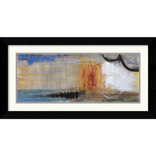 Jennifer Hollack 'Enigmatic II' Framed Art Print