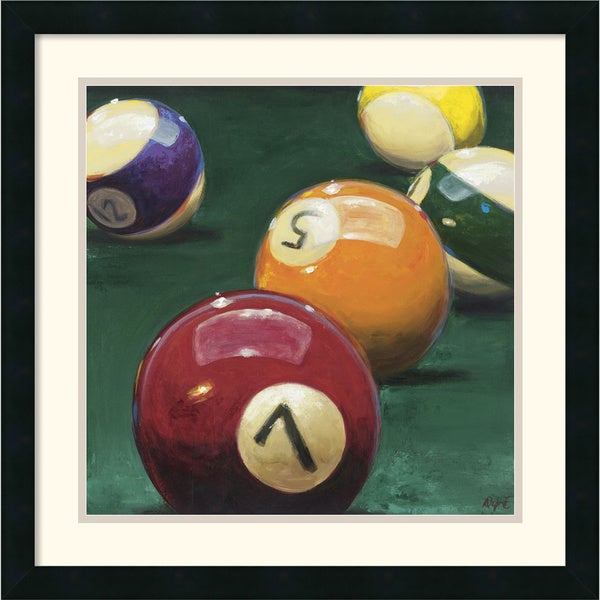 Karen Dupre 'Bank Shot' Framed Art Print