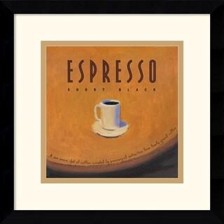 Jillian David Design 'Espresso' Framed Art Print