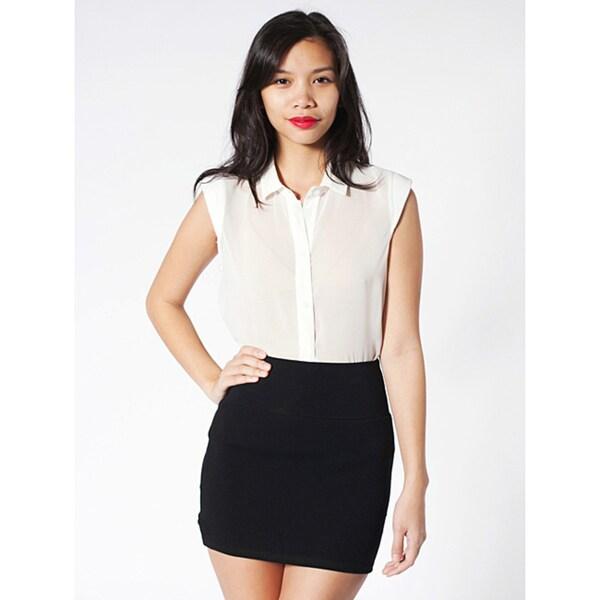 dfc688d5f7964 American Apparel Interlock Mini Skirt