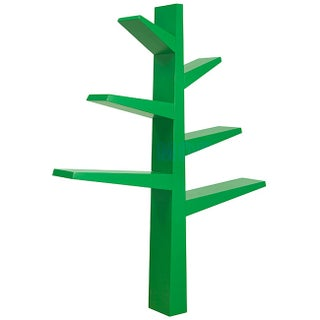 Babyletto Spruce Tree Bookcase (Option: Green - Green Finish)