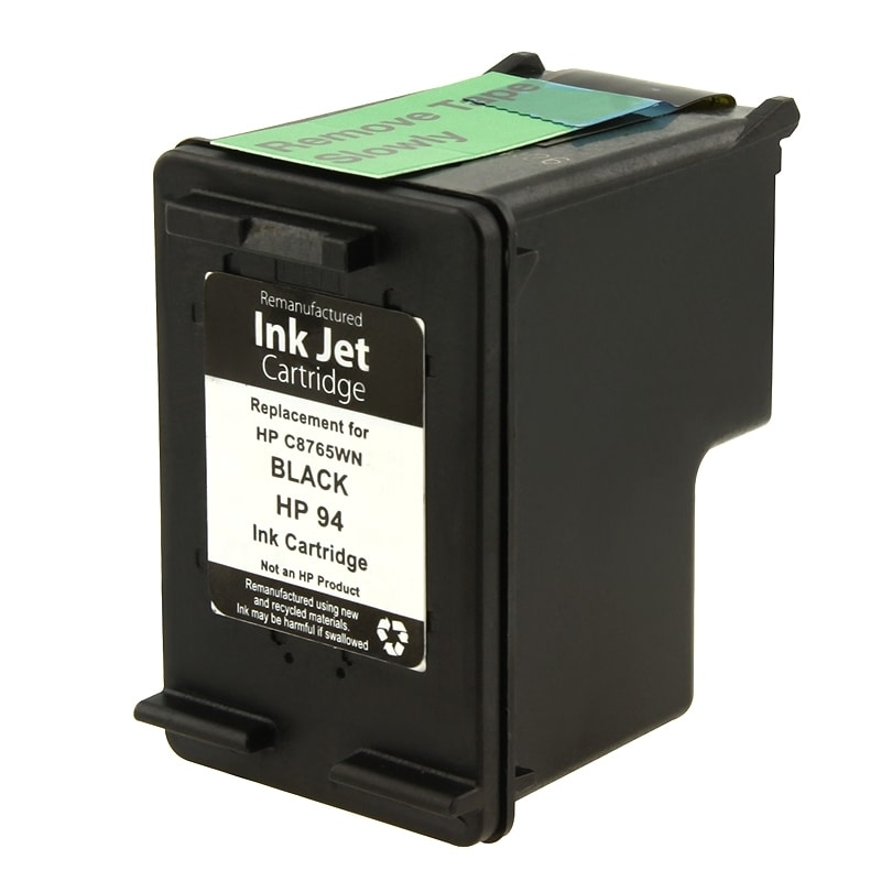 HP 94/ C8765WN Black Ink Cartridge (Remanufactured)