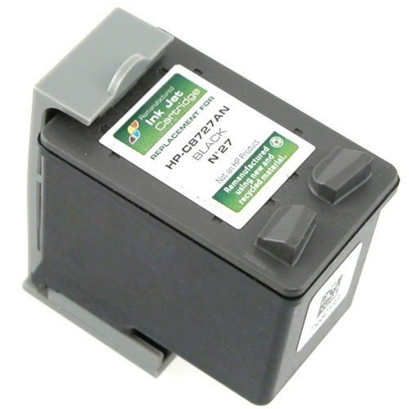 INSTEN HP 27/ C8727AN Black Ink Cartridge (Remanufactured)