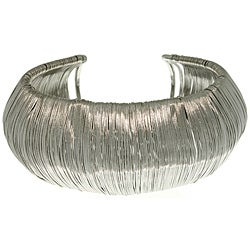 Carolina Glamour Collection Stainless Steel Cuff Bracelet