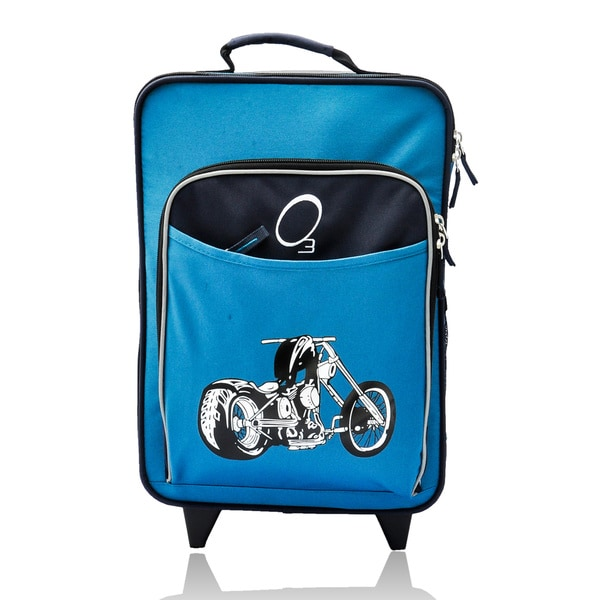 Obersee Kids Motorcycle 16 Inch Rolling Carry On Cooler
