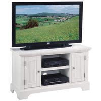 Havenside Home Tybee Naples White TV Stand