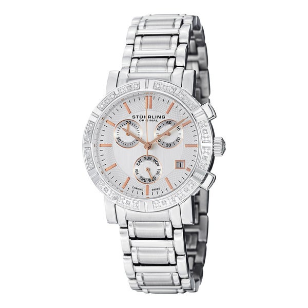 Stuhrling Original Women's Diamond Bracelet Watch