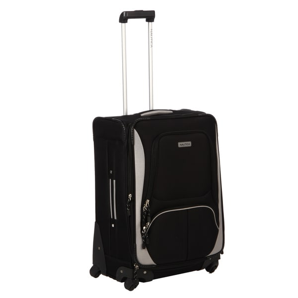 Nautica Downhaul Black / Grey 24-inch Expandable Spinner Upright