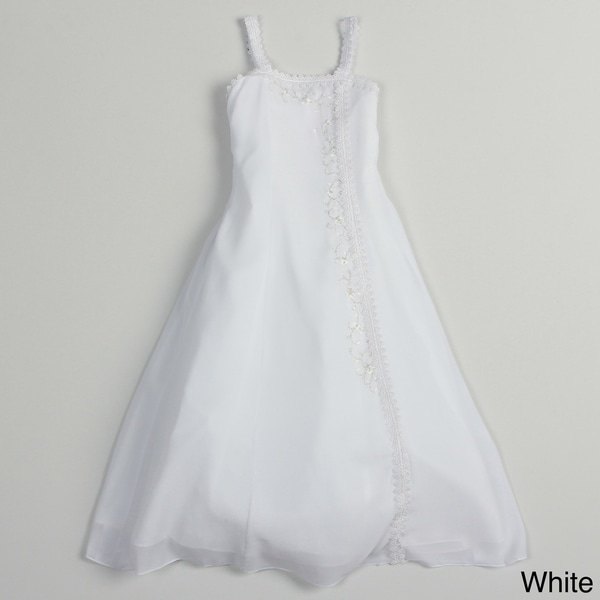 Sweetie Pie Girls Zip-Back Special Occasion Dress