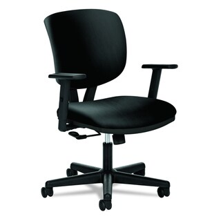 HON Volt H5701 Task Chair, Black SofThread Leather