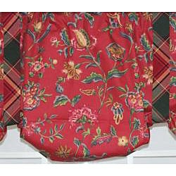Norwell Suspender Floral Valance - Thumbnail 1