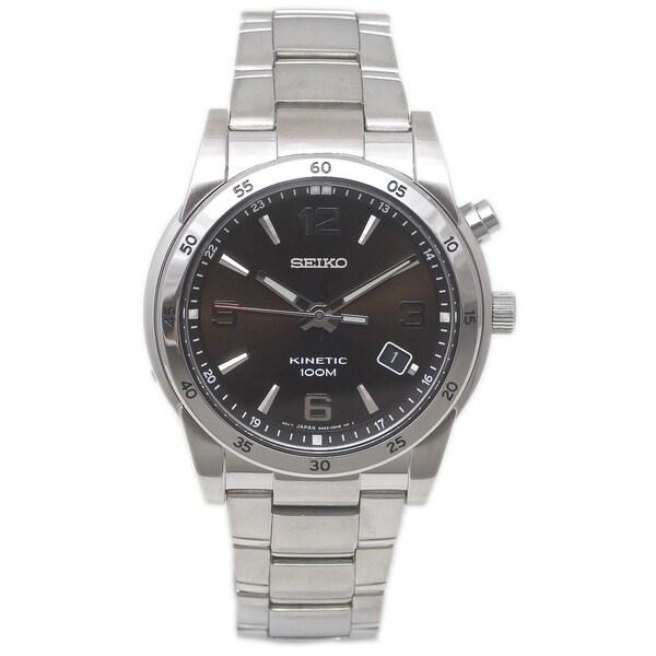 Seiko Men's Kinetic Watch