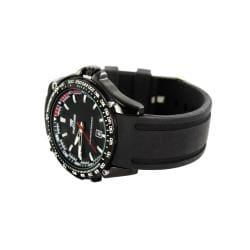 Fortuner Men's 'Grand Duke' Silicone Strap Watch - Thumbnail 1