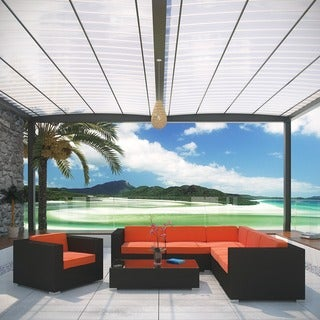 Corona Outdoor Rattan 7-piece Furniture Set