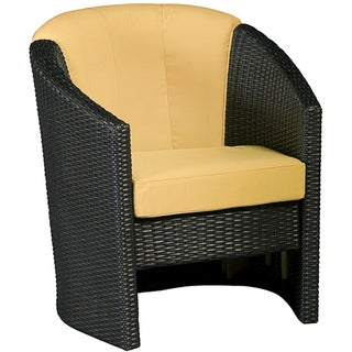 Riviera Harvest Barrel Accent Chair by Home Styles