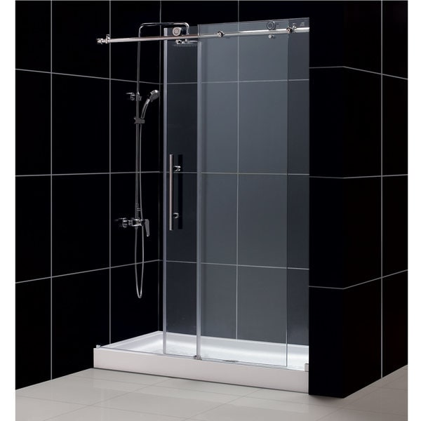 Enigma X Shower Door And Amazon Shower Base 30x60 Inch Tub