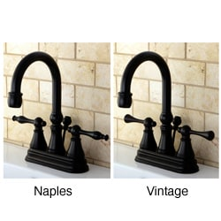 High Spout Oil Rubbed Bronze Bathroom Faucet