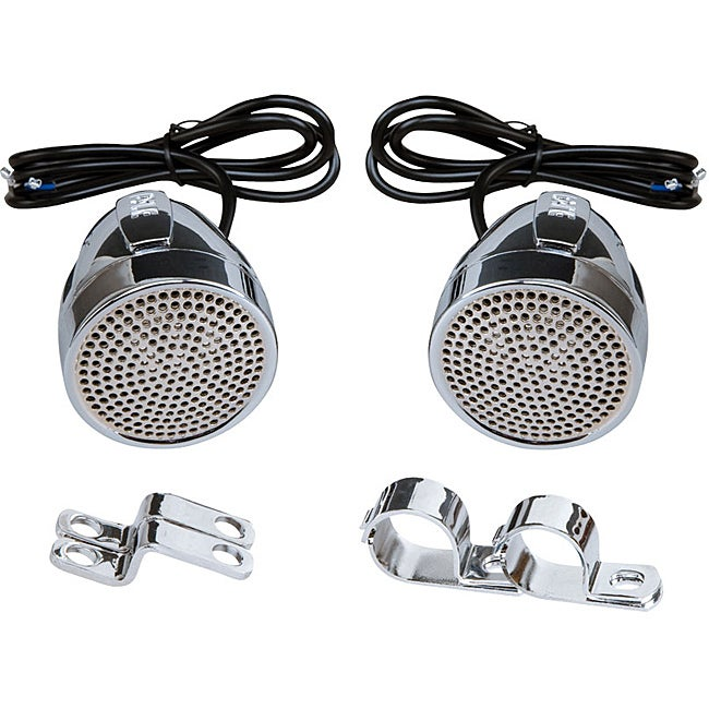 Pyle 600-Watt Motorcycle Mount Weatherproof Speakers (Pyl...