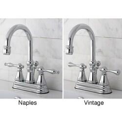 High Spout Chrome Bathroom Faucet