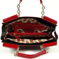 Nicole Lee Kara Croc Satchel Bag