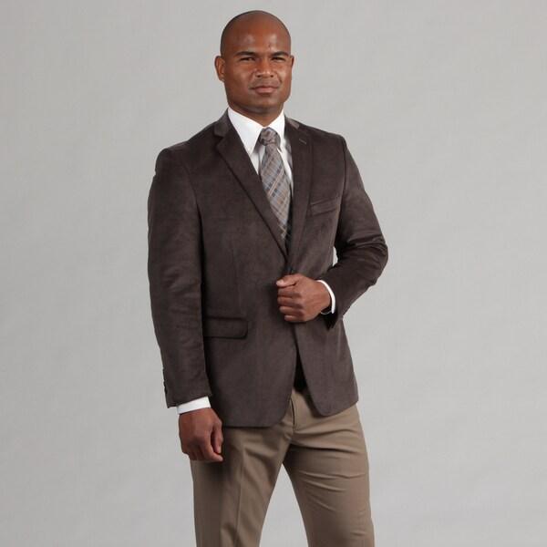 Adolfo Men's Grey Corduroy Sportcoat FINAL SALE