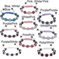 La Preciosa Children's Crystal and Hematite Bead Macrame Bracelet