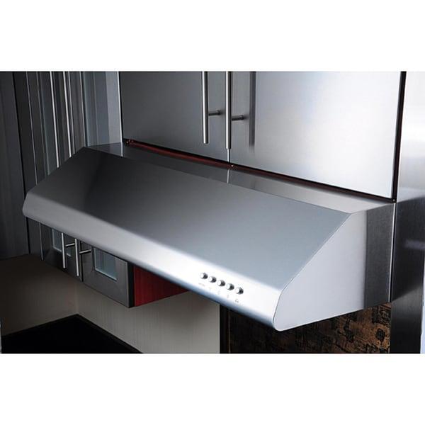 shop kobe brillia chx20 series 30 inch under cabinet range hood free shipping today. Black Bedroom Furniture Sets. Home Design Ideas