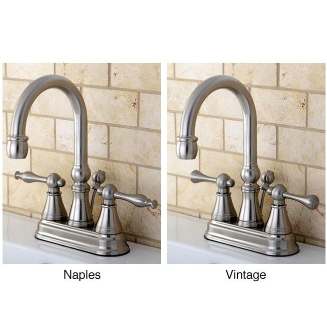 High Spout Bathroom Faucet: Shop High Spout Centerset Satin Nickel Bathroom Faucet