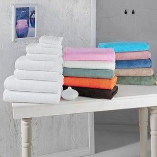 Salbakos Arsenal Turkish Cotton 8-piece 'Quick Dry' Towel Set