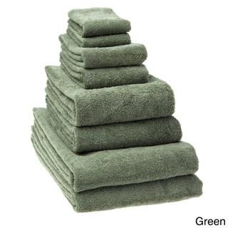 Salbakos Arsenal Turkish Cotton Quick-dry 8-piece Towel Set with Bath Sheet Towels
