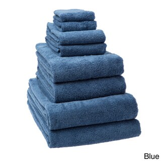Arsenal 8 Piece Turkish Cotton Towel Set Includes Oversized Bath Sheets