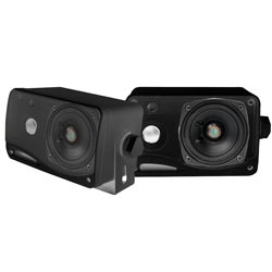 Pyle 3.5-inch 200-watt 3-way Weatherproof Box Speakers Pair