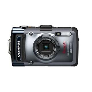Olympus Tough TG-1 iHS 12MP Silver Digital Camera