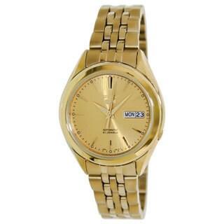Seiko Men's Seiko 5 Goldtone Watch