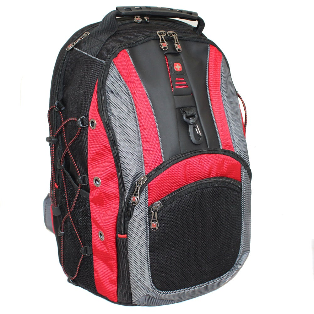 SwissGear The Hudson II Red 16-inch Laptop Computer Backpack
