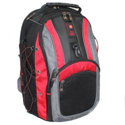 SwissGear The Hudson II Red 16-inch Laptop Computer Backpack ...