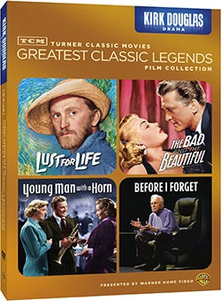 TCM Greatest Classic Films: Legends - Kirk Douglas Drama (DVD)